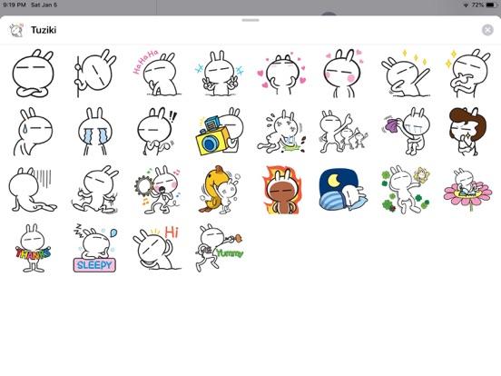 Rabbit Funny Emoji Stickers screenshot 4
