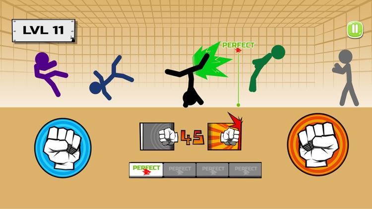 Stickman fighter : Epic battle screenshot-0