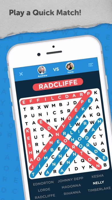 Screenshot for Infinite Word Search Puzzles in United States App Store