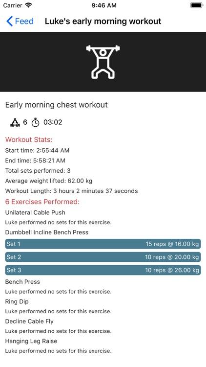 Gym Workout Tracker screenshot-6
