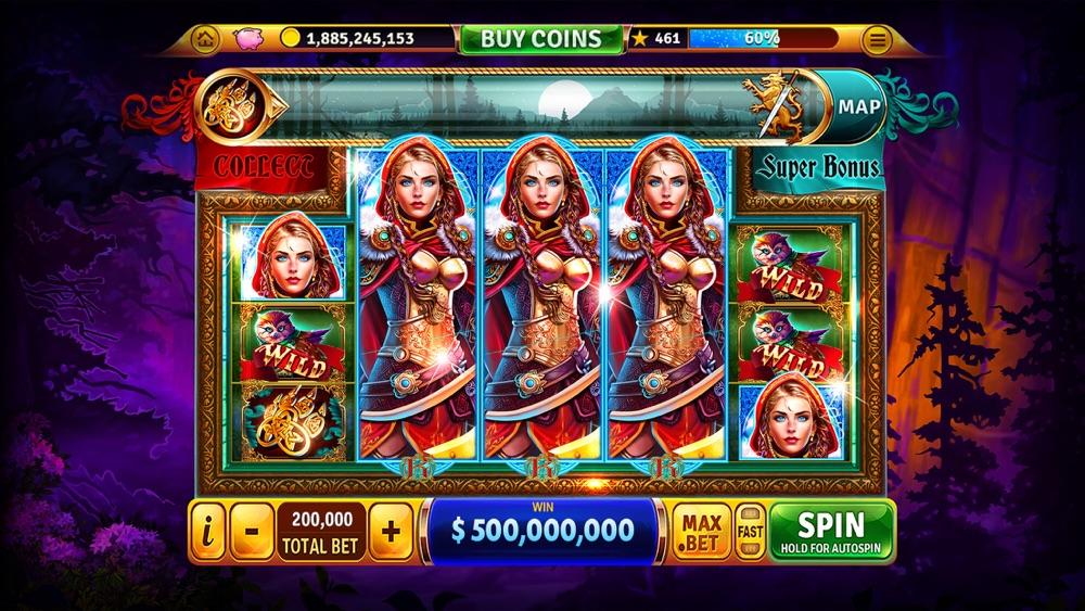 six acrobats Slot Machine