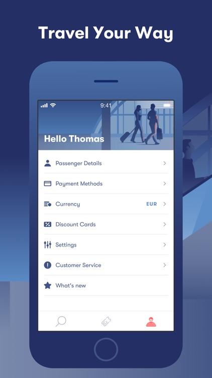 Omio: Train, Bus, Flight App screenshot-4