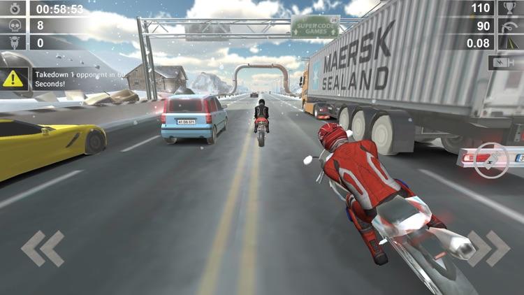 Crazy Road Rash - Bike Race 3D screenshot-3