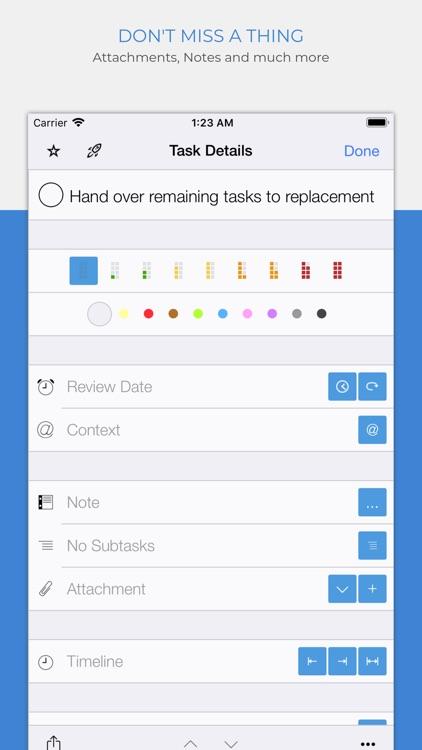 Organize:Me To-Do's screenshot-3