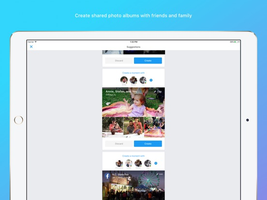 Moments–private shared albums-ipad-0