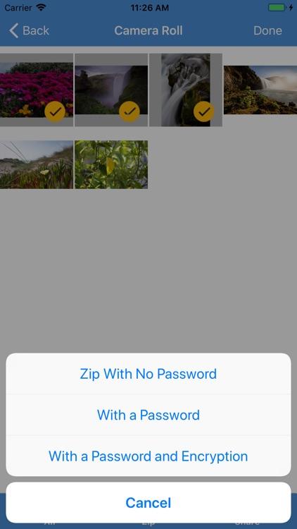 iZip Pro for iPhone screenshot-4