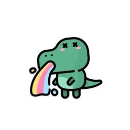 Dino Stickers.