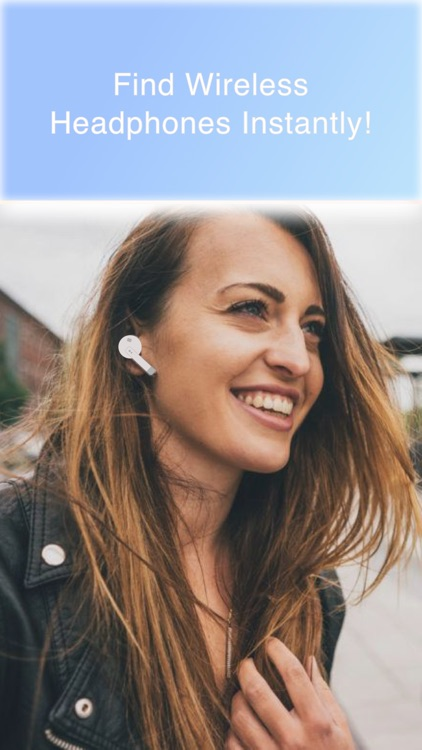 Finder for Wireless Earbuds