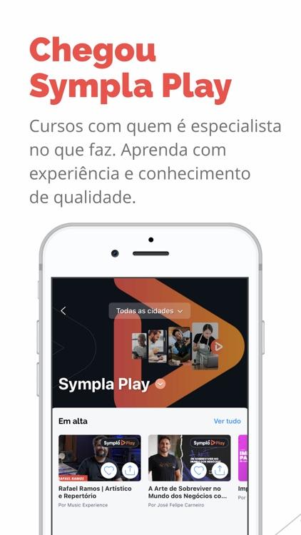Sympla: Eventos, Cursos Online screenshot-0