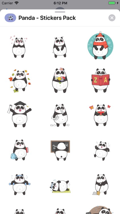 Panda - Stickers Pack screenshot-7