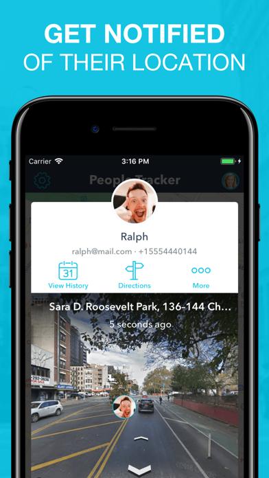 People Tracker - GPS Locator Screenshot