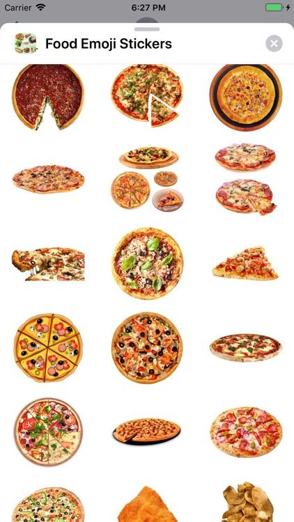 Food Emoji Stickers screenshot-6