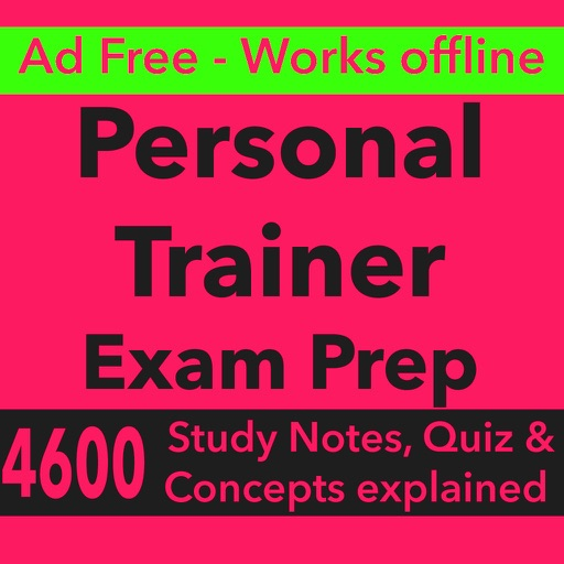 Personal Trainer Exam Prep App