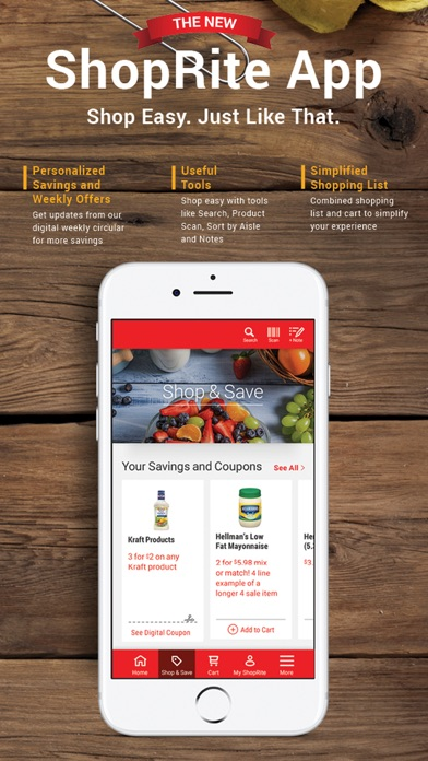 Screenshot for New ShopRite in United States App Store