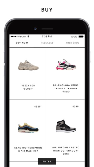 On The Shop goat Store Sneakers – App