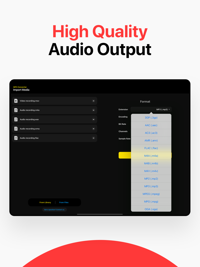 ‎MP3 Converter: Audio converter Screenshot