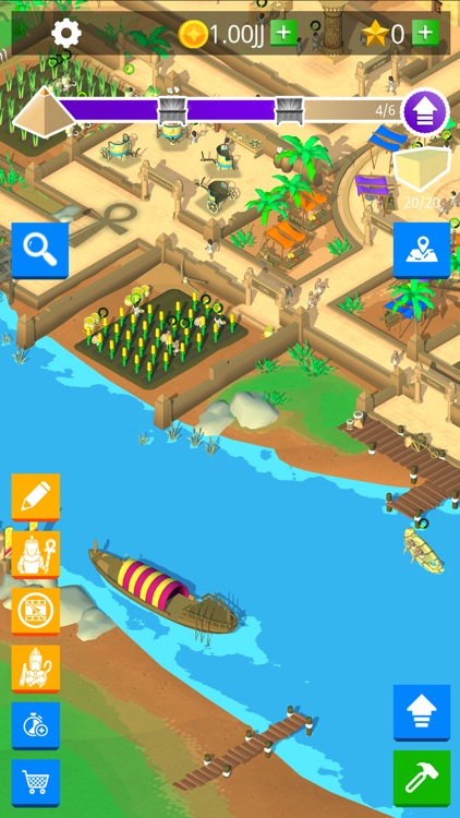 Idle Egypt Tycoon: Empire Game screenshot-6