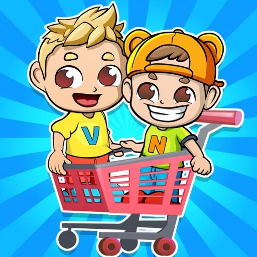 Влад и Никита Супермаркет