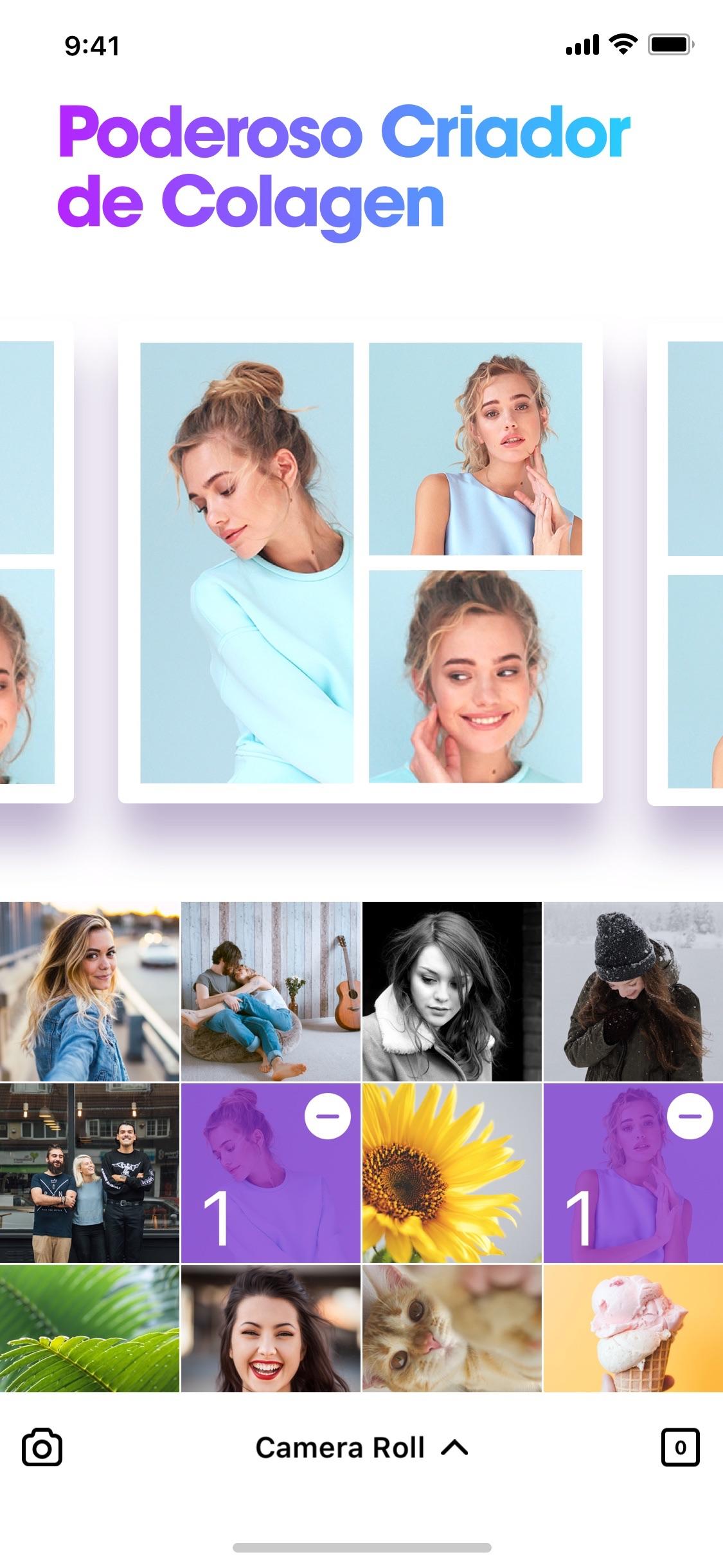 Screenshot do app Photable - Retocar Corpo Cara