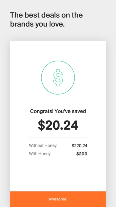Screenshot for Honey Smart Shopping Assistant in United States App Store