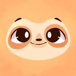 Ícone do app Sloth World - Play & Learn!