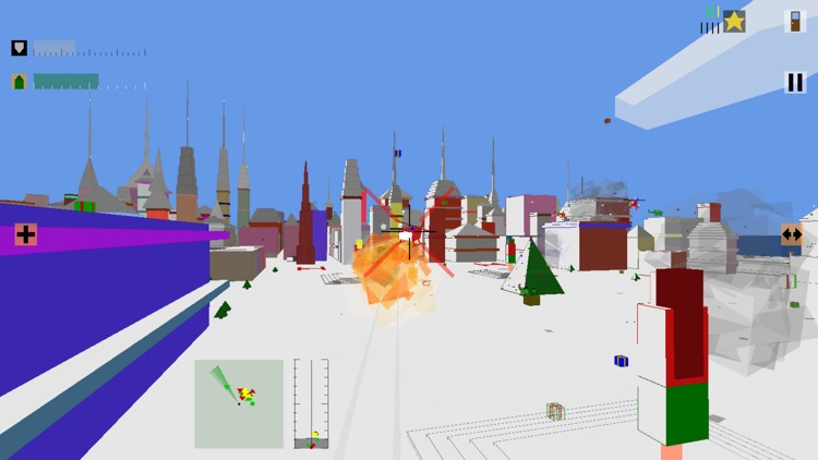 Retro Flight: 3D battle sim screenshot-8