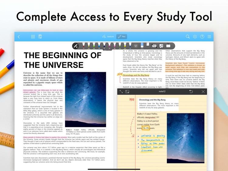 Flexcil - PDF, Annotate, Note screenshot-0