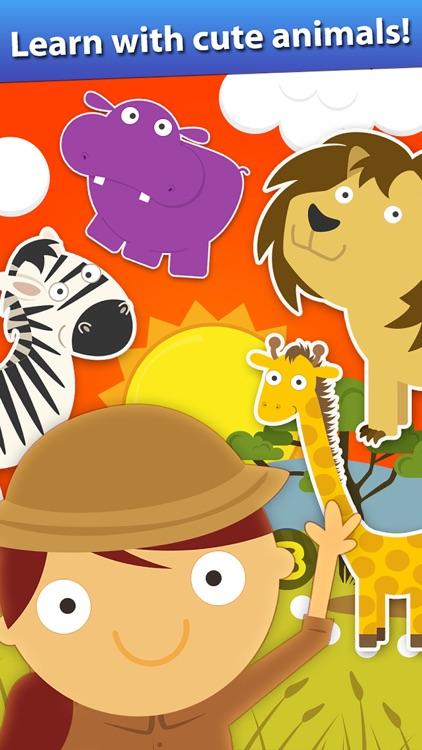 Animal Math Games For Kids screenshot-3