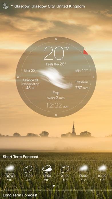 Screenshot for Weather Live° in Jordan App Store