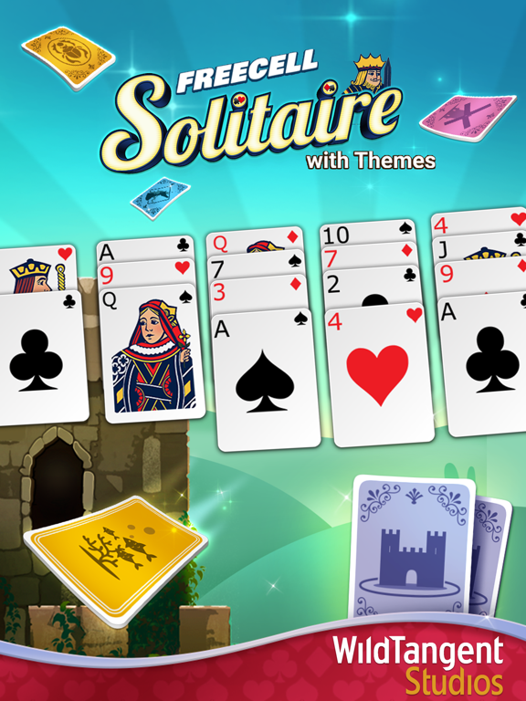 FreeCell Solitaire with Themes screenshot 10