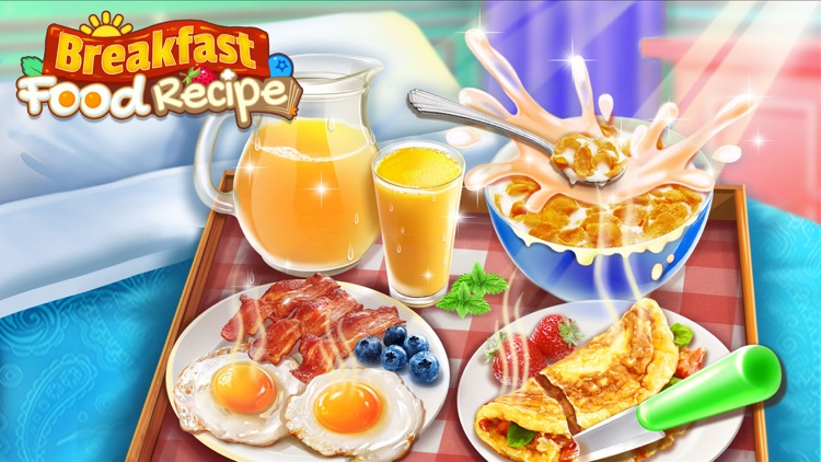 Food Games: Breakfast Maker screenshot-0
