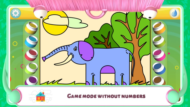 Color by Numbers - Animals + screenshot-5