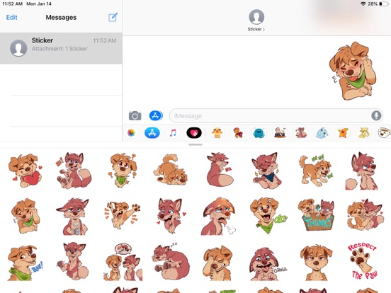 Dog Pun Funny Stickers screenshot 6