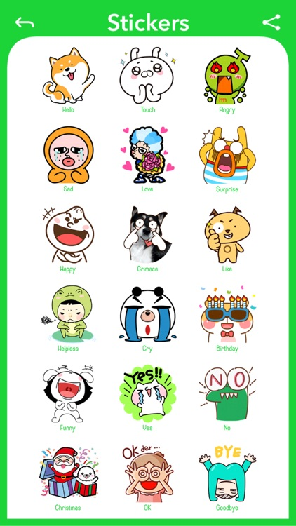 Funny Face - Photo Stickers screenshot-3
