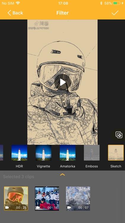 VideoKing-Video Editor & Maker screenshot-4