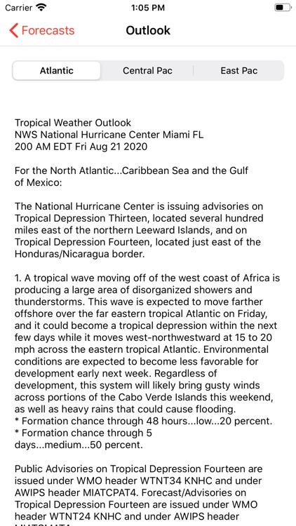 My Hurricane Tracker & Alerts screenshot-4
