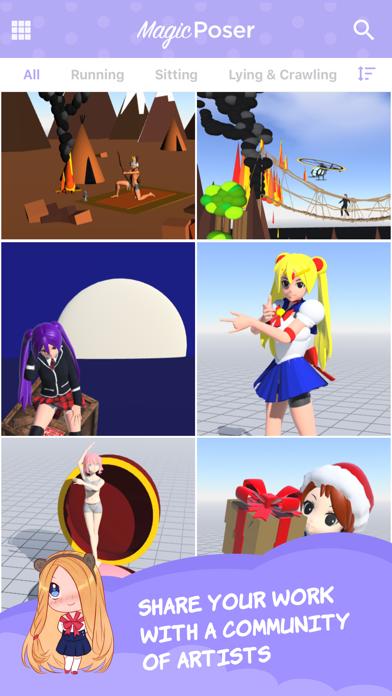 Magic Poser – Art Pose Tool Screenshot