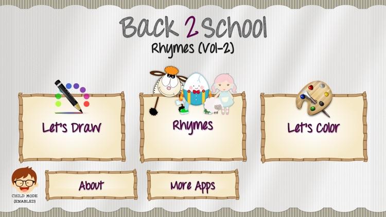 Back2School Rhymes Vol2