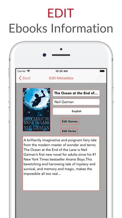 Librairie - Ebook Cloud Reader screenshot-7