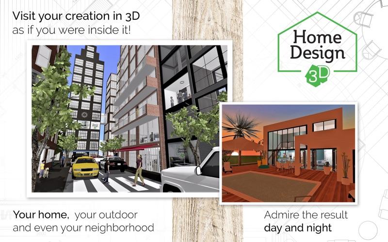 Home Design 3d Gold review screenshots