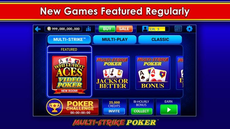 Multi-Strike Video Poker screenshot-6