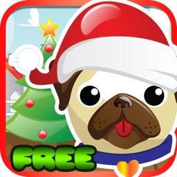 Pet Pug Xmas Eve Run : Free