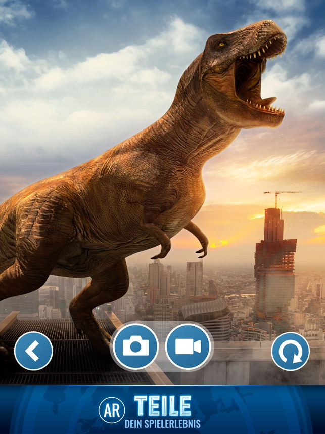 ‎Jurassic World Alive Screenshot