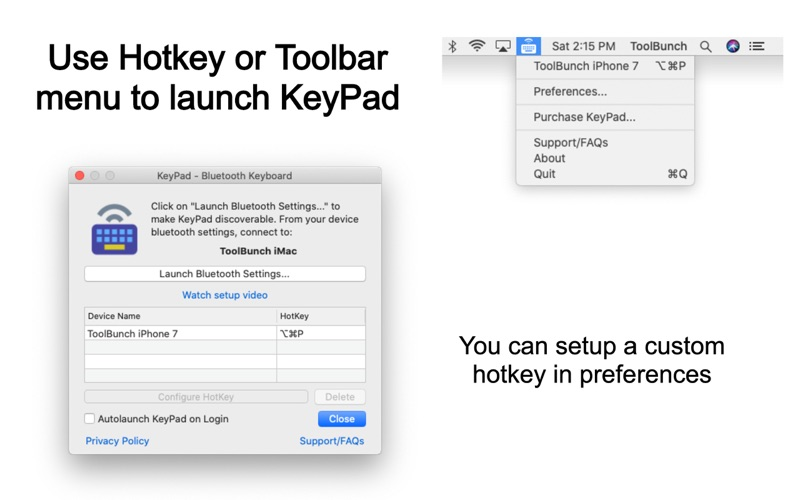 KeyPad - Keyboard and Mouse скриншот программы 9