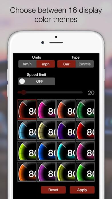 Screenshot for GPS เครื่องวัดความเร็ว Pro in Thailand App Store