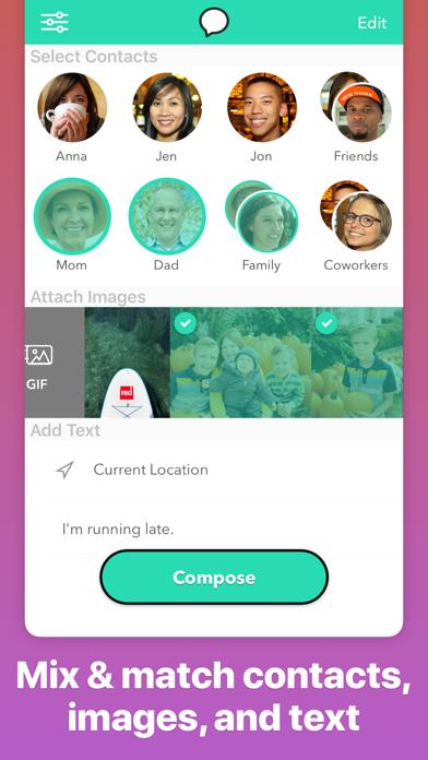 Group Text+ Screenshot