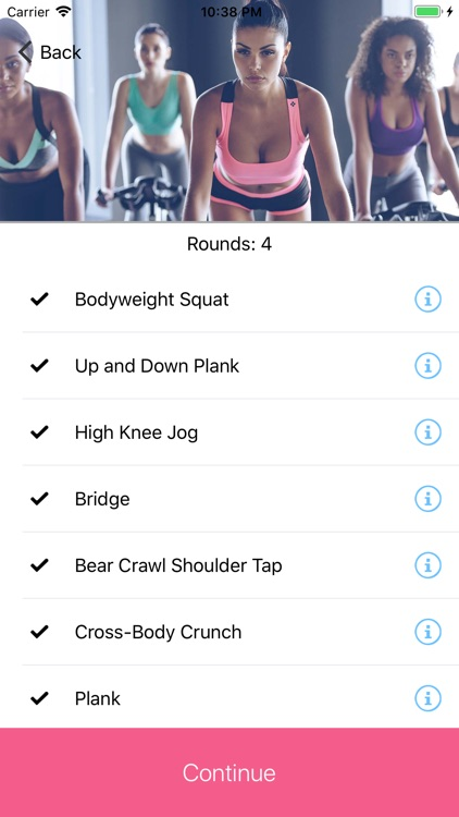 Workouts For Ladies