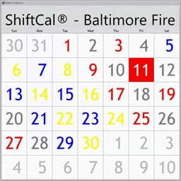 ShiftCal® for Baltimore Fire