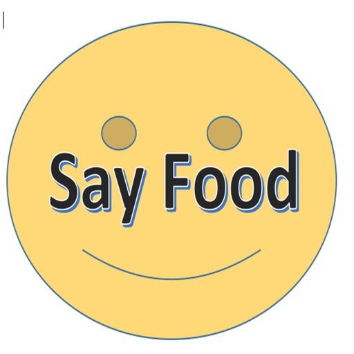 say food sticker