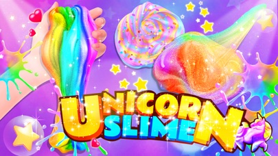Unicorn Slime: Cooking Games screenshot 1